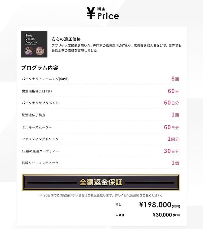 FiNC 料金